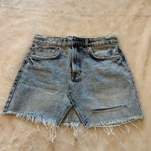 Zara Jean mini skirt